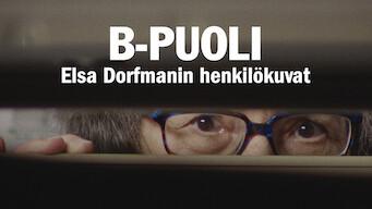 B-puoli: Elsa Dorfmanin henkilökuvat (2016)