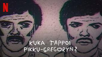Kuka tappoi Pikku-Gregoryn? (2019)