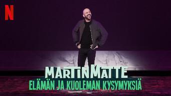 Martin Matte: Elämän ja kuoleman kysymyksiä (2019)