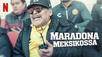 Maradona Meksikossa (2020)