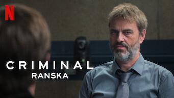 Criminal: Ranska (2019)