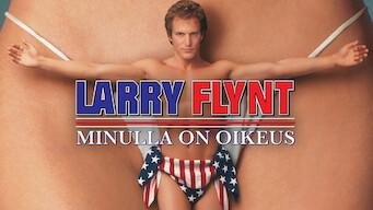 Larry Flynt - Minulla on oikeus (1996)