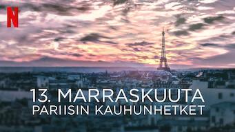 13. marraskuuta: Pariisin kauhunhetket (2018)