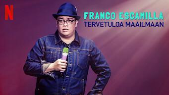 Franco Escamilla: Tervetuloa maailmaan (2019)